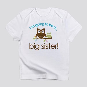 i'm going to be a big sister owl shirt Body Infant